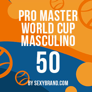 PRO MASTER 50 WORLD CUP Masculino by sexybrand.com